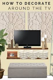 Tv Living Room Creative Ways To Decorate Around The Tv Living Room Pinterest