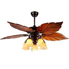 tropical looking ceiling fans. Modren Looking Andersonlight Palm Island 52Inch Tropical Ceiling Fan With 5 Sunset Shade  Lights Five Intended Looking Fans I