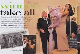 When Vogue Took Lottery Winner Niki Barkoutsis Shopping in 1997.