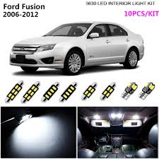 2013 Ford Fusion Interior Light Kit Details About 10lights Xenon White 6000k Interior Dome Light Kit Led Fit 2006 2012 Ford Fusion