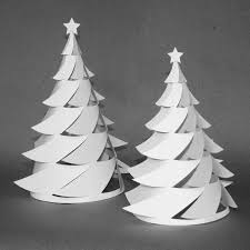 Paper Christmas Tree Pattern