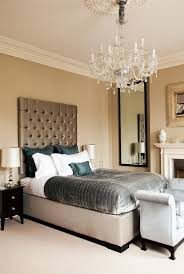 attractive chandelier bedroom decor 7 glassy idea for the modern