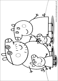 Peppa Pig Colouring Pages Printable Pictures And Sheets For 7670