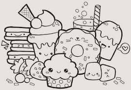 30 Inspirierend Kawaii Food Ausmalbilder Ausdrucken Blupebblecom