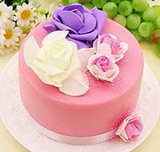Amazoncom Nice Purchase 6 Inch Fake Birthday Cake Fake Food