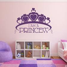 i m a princess crown vinyl wall decal