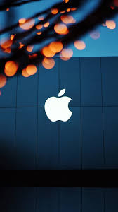 ng08-apple-logo-blue-orange-dark-wallpaper