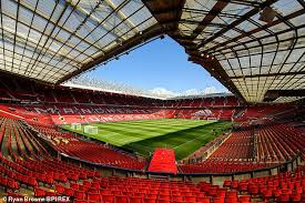 Real stadium atmosphere bvb borussia dortmund. Manchester United News Safe Standing On The Way To Old Trafford Daily Mail Online