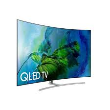 samsung 65 inch curved qled tv wall