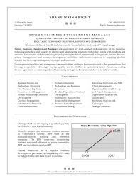 Best Solutions Of Business Development Executive Resume Sample On