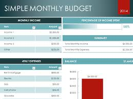Monthly Budget Template (Home) - Microsoft Office Templates