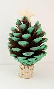 How To Craft Pinecone Christmas Tree Decoration  HellokidscomPine Cone Christmas Tree Craft Project