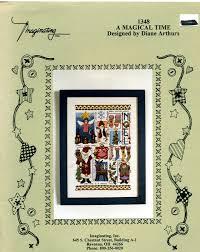 Diane Arthurs Cross Stitch Designs A Magical Time Cross Stitch Chart 1348 Designer Diane