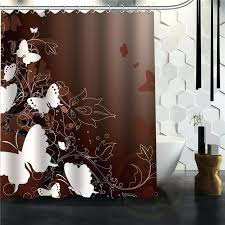 custom size shower curtains custom elegant erfly shower curtain multi size bathroom curtains custom made shower