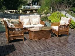 rattan outdoor furniture cushions better homes and gardens outdoor furniture brown rattan garden patio set brown