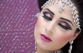 new trend eye makeup fashion for bridal 2016