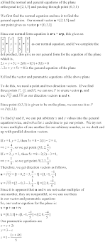 distance between a point and a line or plane