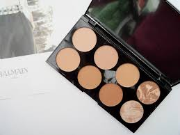 the new makeup revolution blush palette all about bronze palette