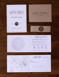 Jared Lindsey Wedding Invitations And Design Six Leaf Design