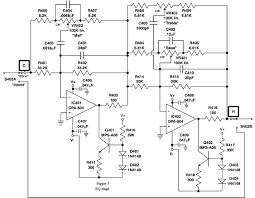 the solid state mic preamp recording magazine first stage of preamp · secondary gain stage · eq stage