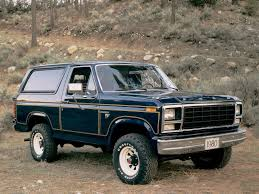 My First Bloggy Experience Ford Bronco Full Size Suv