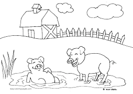Colouring In Farm Animals Farm Animal Colouring Pages Farm Animal
