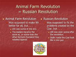 ask the experts animal farm russian revolution essay how do i compare and contrast animal farm to the animal farm russian revolution essay