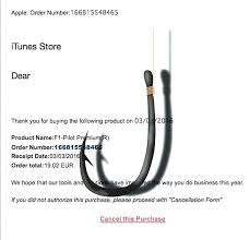 Purchase Receipt Template Awesome Apple Receipt Cancel Order Phishing Scam Pages Sales Template