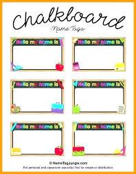 Name Templates Printable Vintage Name Tags Template Naomijorge Co