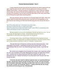 Personal Narrative Essay Example High School Personal Narrative Essay Examples High School Alid Info