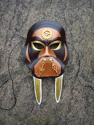 steampunk walrus leather mask steampunk now