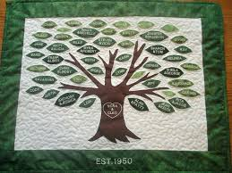 Tree Quilt Patterns New Family Tree Quilts Free Patterns Family Tree Quilt Kit Custom Family