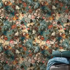 Behang Oosterse Print Muur Keuken Achterwand Behang Kitchen Walls