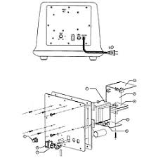 boston acoustics speaker system parts model tveetwo sears woofer