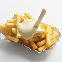 patat eten en afvallen