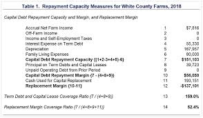 Measuring Repayment Capacity And Farm Growth Potential