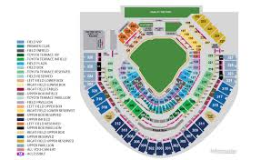 Qualcomm Interactive Seating Chart San Diego Padres Stadium Seating