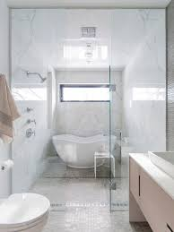 a tub and shower combination that still gives you a luxury freestanding tub focal point