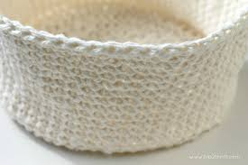 Free Crochet Basket Patterns Extraordinary Craftaholics Anonymous How To Crochet A Basket
