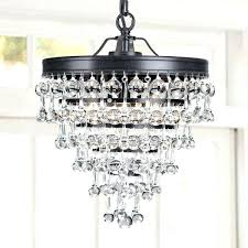 incredible 3 light crystal glass drop chandelier in antique black finish edwards antique bronze 16