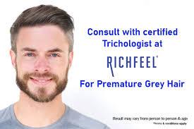 pre greying of hair white hair