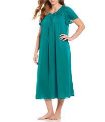Miss Elaine Size Chart Miss Elaine Plus Size Sleepwear Dillards