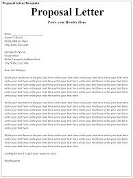 Proposal Letter For Sponsorship Sample For Event Business Proposal Sample Template Pdf Music Event
