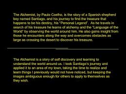 photo essay alchemist hidden treasure 2 <ul><li>the alchemist by paulo coelho