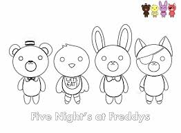 Fnaf Coloring Pages Toy Bonnie Dreadeorg