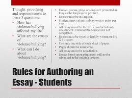 do the write thing texas challenge rules for authoring an essay  rules for authoring an essay   students essays poems plays or songs are permitted