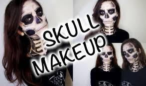 awesome skull makeup tutorial