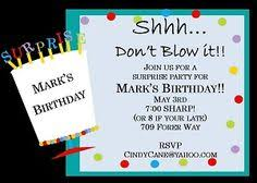 surprise birthday party invite 51 best surprise party invitations images surprise party