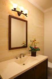 incredible decorating ideas. bathroomdesign ideas bathroom incredible decorating using white strips light rectangular brown mirrors