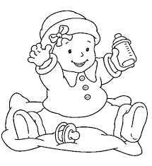 Small Picture Babies Want Some More Milk Coloring Pages Bulk Color